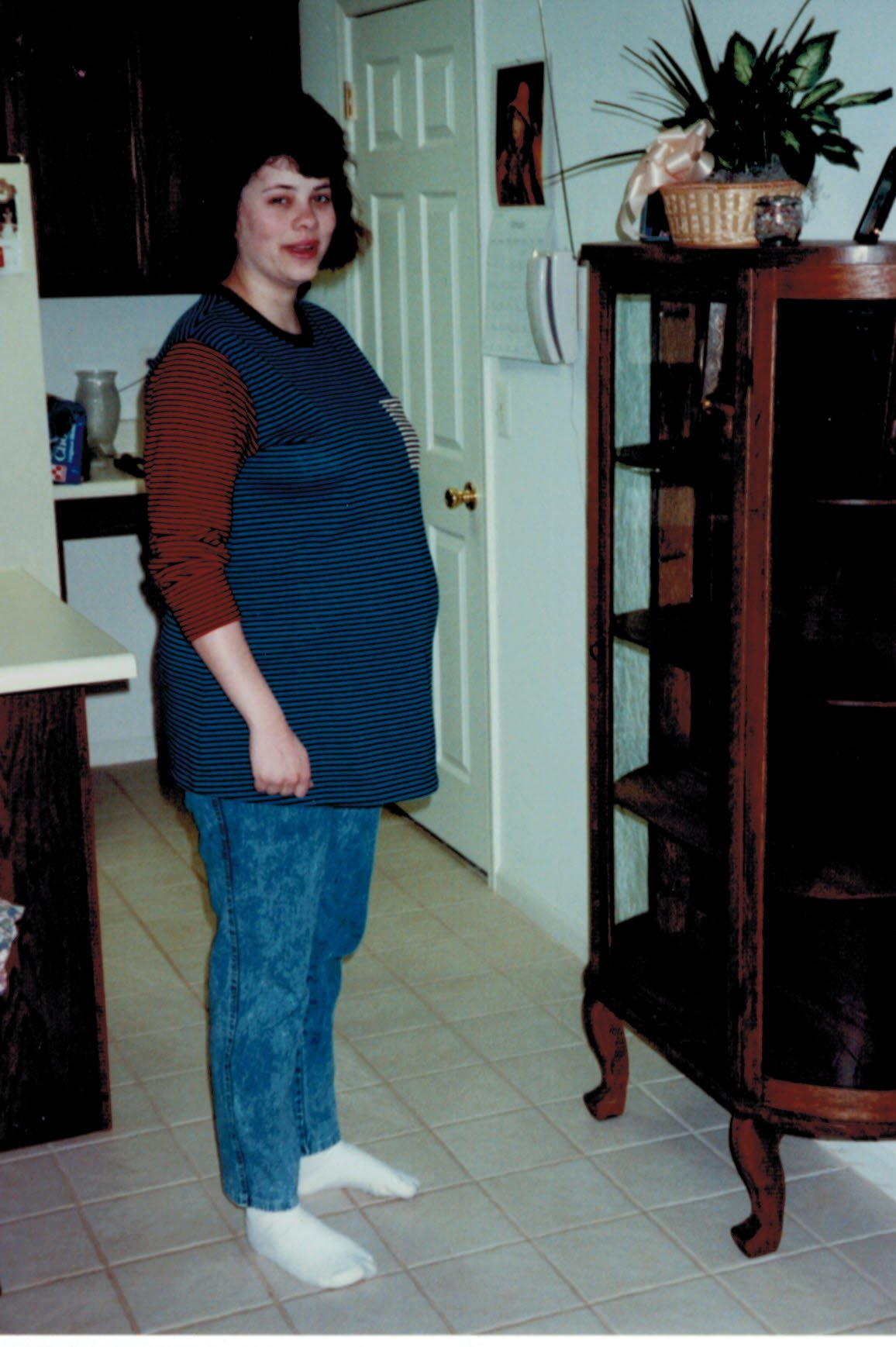 Lisa Lederer first pregnancy