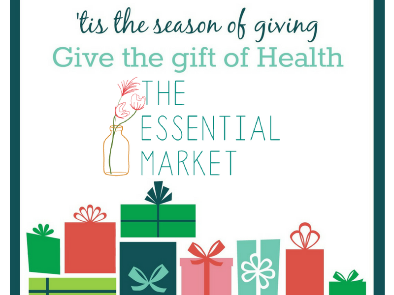 Christmas Packages with the Essential Market logo