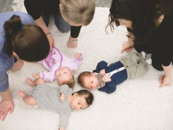 Baby care class at the midwives of new jersey