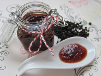 Elderberry syrup for cold and flu prevention