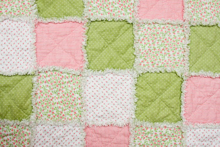 homemade baby quilt baby shower