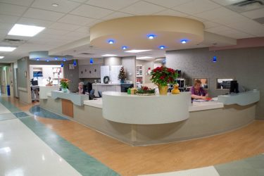 Morristown Hospital Nurse Station