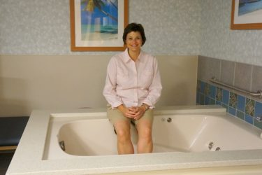 Morristown Medical Center Waterbirth Tub