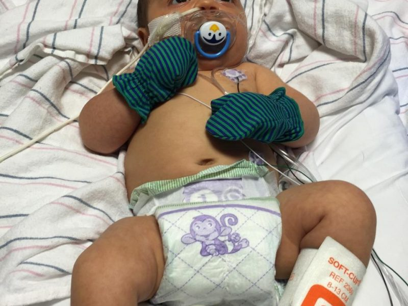 newborn with whooping cough
